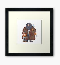 yer a wizard, harry Framed Print