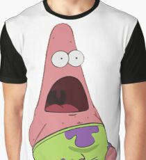 Surprised Patrick Star  Graphic T-Shirt