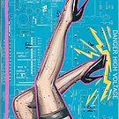 High Voltage Leg Show  by Thomas Jacobson