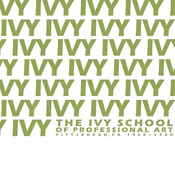 IVY IVY IVY (a retro vintage design from the 1970s) by TheIvySchool