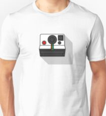 Vintage Camera Polaroid OneStep Illustration Unisex T-Shirt