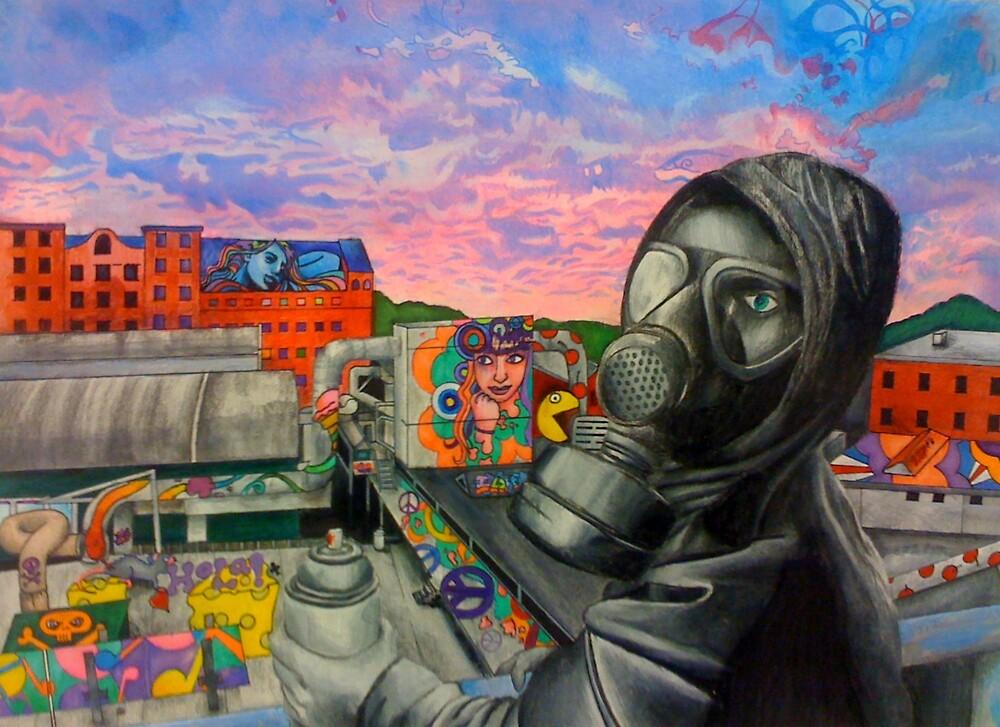 Gas Mask by prbawla1189