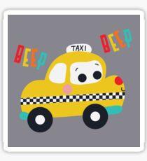Beep Beep! Taxi! Sticker