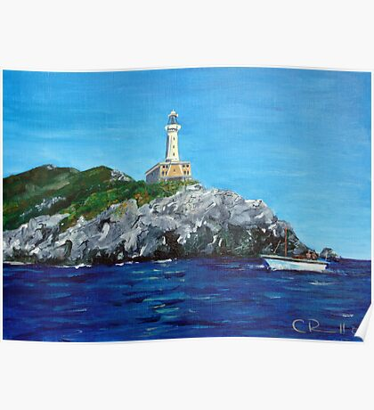 Punta Carena Lighthouse Poster