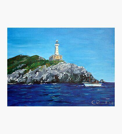 Punta Carena Lighthouse Photographic Print