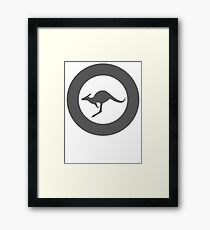 Royal Australian Air Force (Low Vis) Framed Print