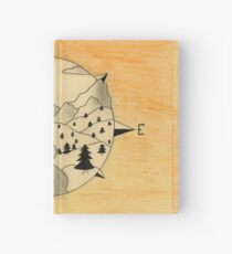 North East South West Hardcover Journal