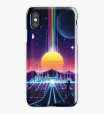 Neon Sunrise iPhone Case