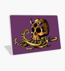 OctoSkull - Cthulhu Skull Octopus Illustration Laptop Skin