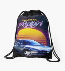 Honda Prelude Retrowave Drawstring Bag