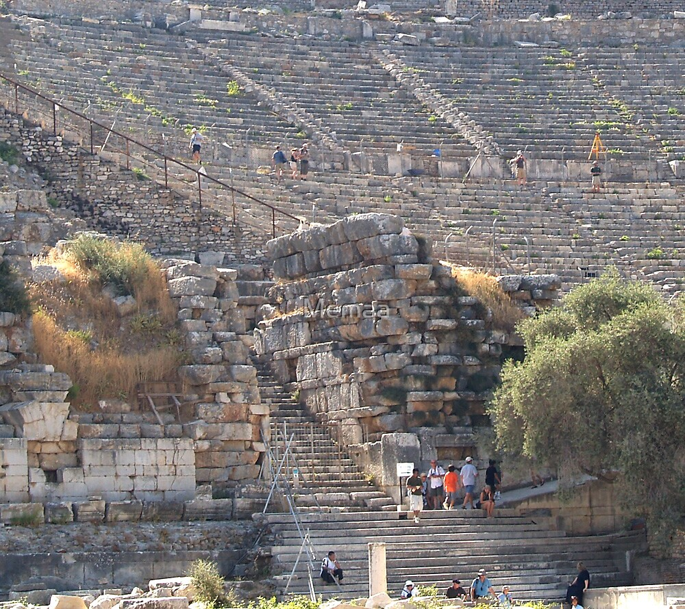 Touring the Ephesus Theater by Memaa