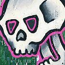 Pop Art Skull by Thomas Jacobson