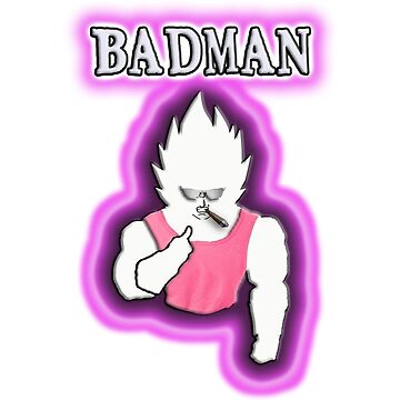 BADMAN Vegeta by Nasdorachi