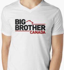 Big Brother Canada Logo Men's V-Neck T-Shirt