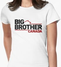 Big Brother Canada Logo Women's Fitted T-Shirt