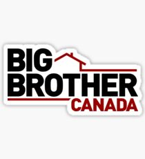 Big Brother Canada Logo Sticker