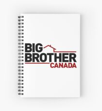 Big Brother Canada Logo Spiral Notebook