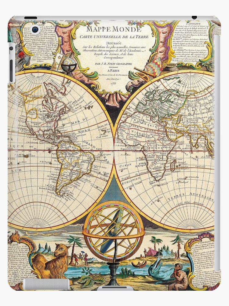 'Vintage Maps Of The World 1755' iPad Case/Skin by Igor Drondin on vintage mannequin, vintage map mediterranean, vintage number one, vintage looking world map, vintage map tumblr, vintage world map high resolution, vintage world atlas, vintage world map wallpaper, vintage world map colored, vintage map color, vintage world map drawing, travel of the world, vintage star map, art of the world, vintage old world map, vintage map europe, vintage world map with compass, vintage world map printable, vintage world map artsy, vintage world maps reproductions,