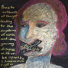 Warning, Woman Speaking by Alison Pearce