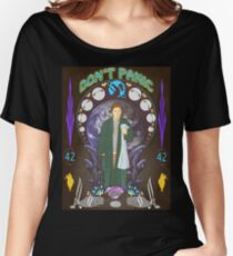 Art(hur) Nouveau - Hitchhikers Guide Women's Relaxed Fit T-Shirt