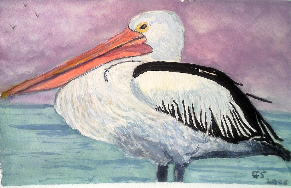 Pelican by GEORGE SANDERSON