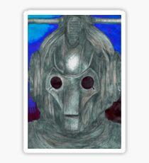 Cyberman Sketch Sticker