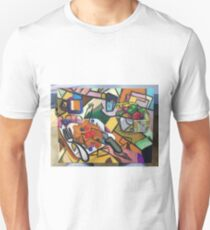 Pancake Breakfast: Picasso Style T-Shirt