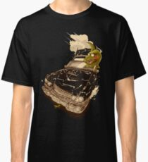 Dinosaur on a Cadillac Classic T-Shirt