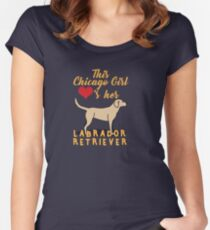 Chicago Girl Lab Women's Fitted Scoop T-Shirt
