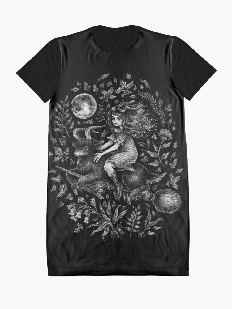Alternate view of VVITCH - color variant 2  Graphic T-Shirt Dress