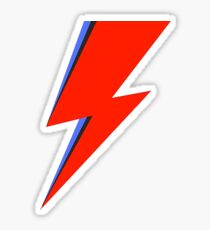 Aladdin Sane Sticker