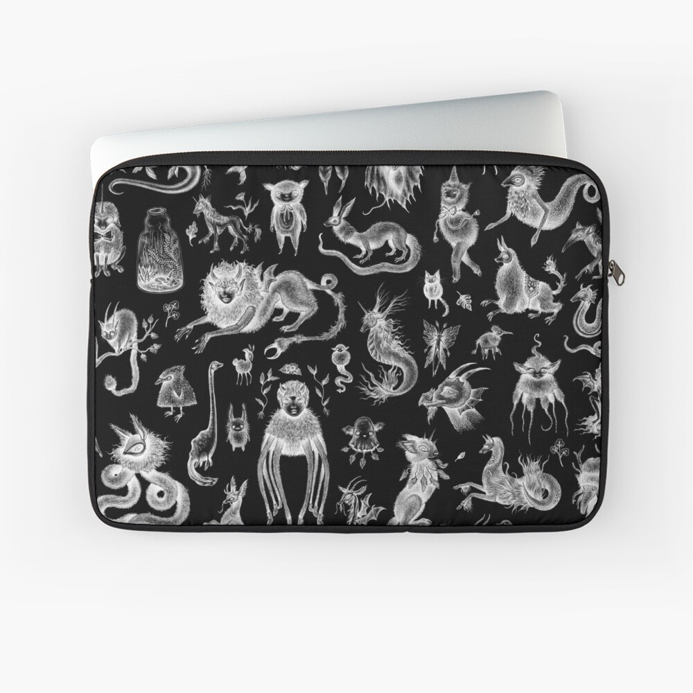 We Are Not Alone - inverted Laptop Sleeve