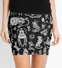We Are Not Alone - inverted Mini Skirt