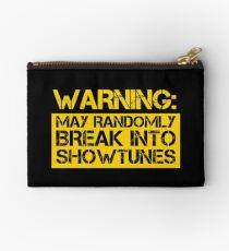 warning, may randomly break into showtunes Studio Pouch