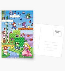 Nintendo - Mario 2 Postkarten