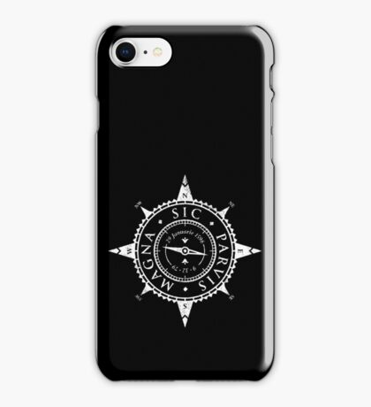 Uncharted Adventure (white) iPhone Case/Skin