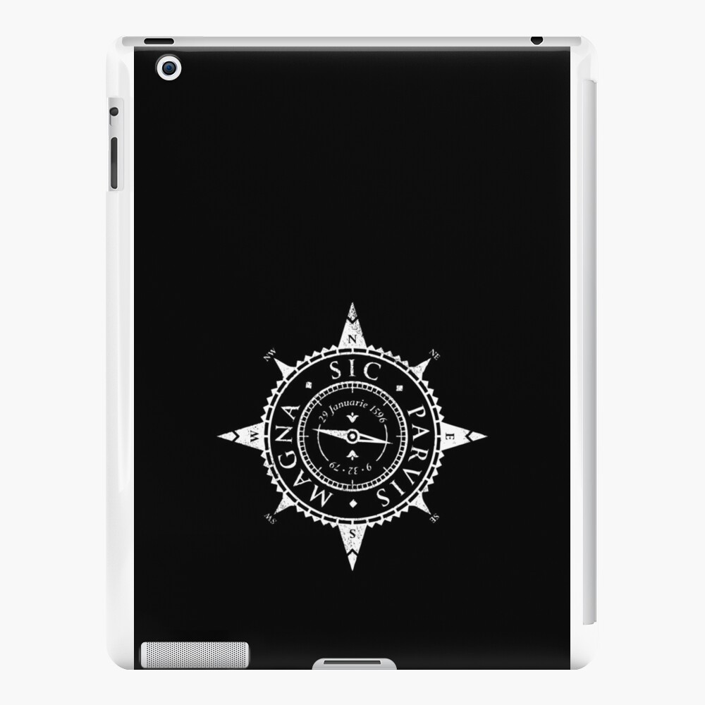 Uncharted Adventure (white) iPad Cases & Skins