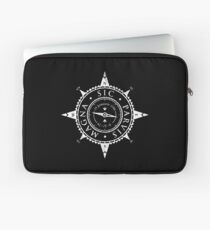 Uncharted Adventure (white) Laptop Sleeve