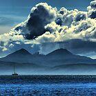 Storm brewing over Jura by Alisdair Gurney
