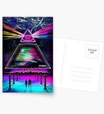 Static Intelligence - VHS 80's Glitch Postcards