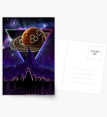 Summon the Future - Synthwave Blade Runner Future Postcards