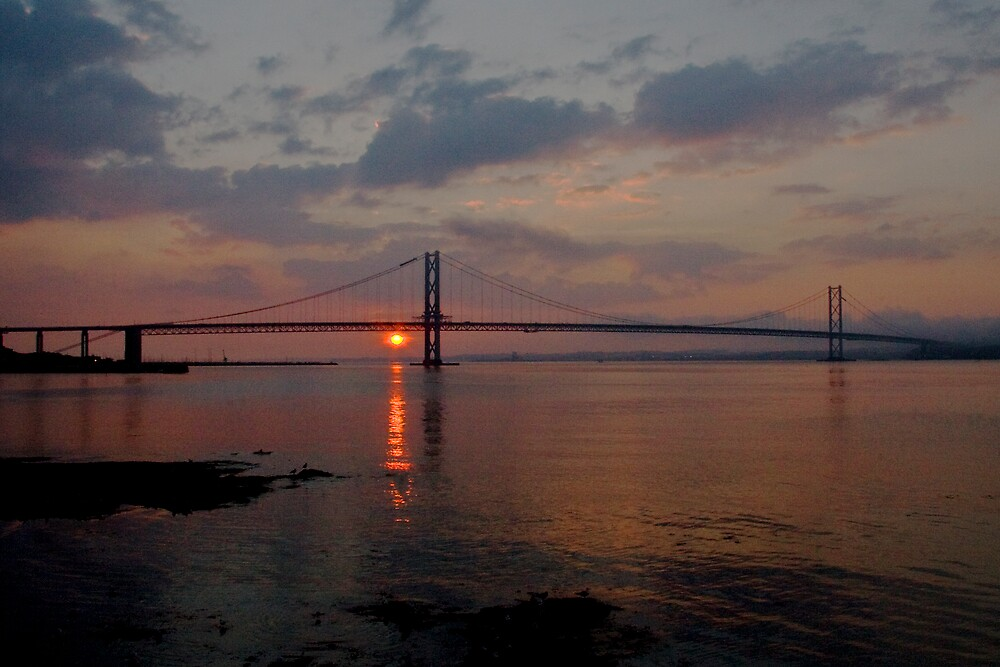 Forth Road Bridge  III by Chris Clark
