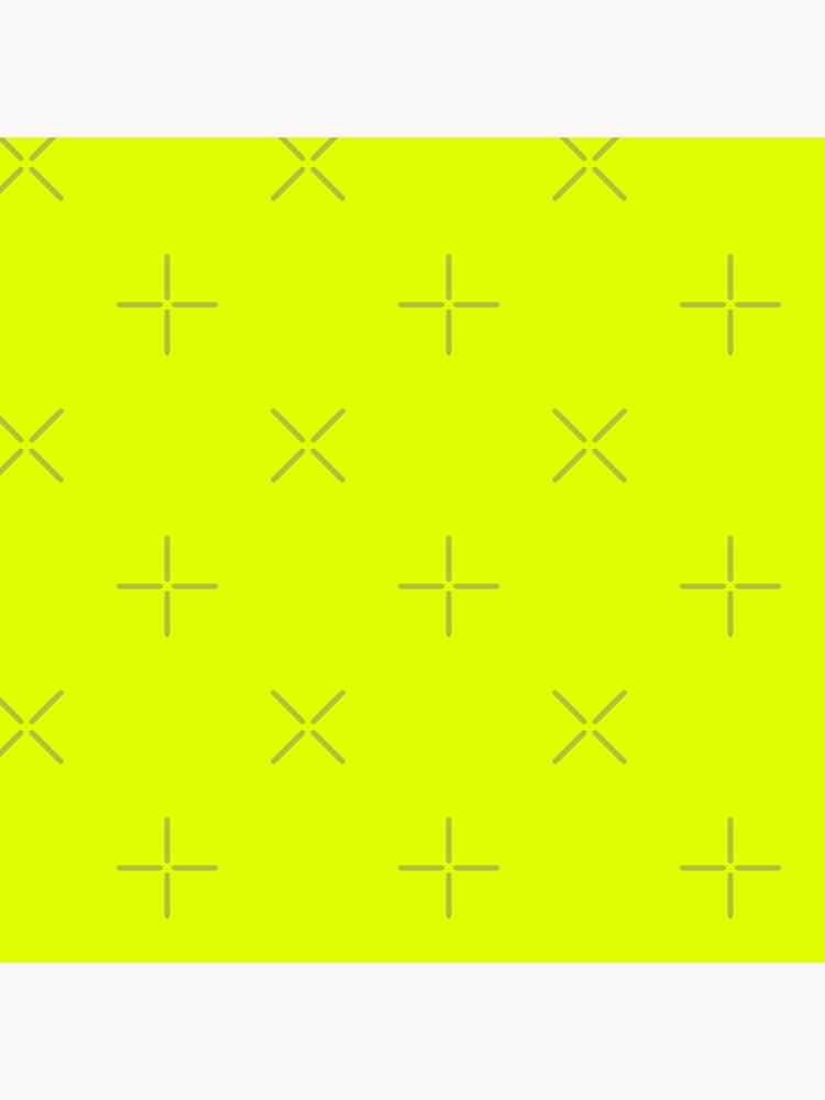 Schöne Kissen / Plain Chartreuse Yellower von ozcushions