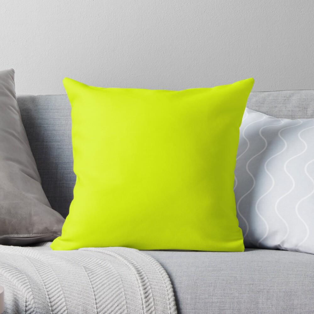 Schöne Kissen / Plain Chartreuse Yellower Dekokissen