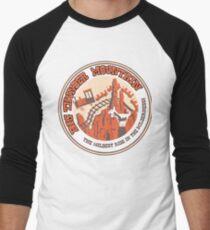 Camiseta ¾ bicolor para hombre Big Thunder Mountain (naranja y amarillo)