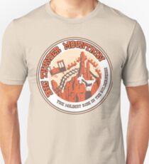 Camiseta unisex Big Thunder Mountain (naranja y amarillo)