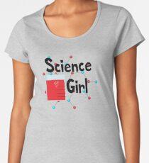 Science Girl Women's Premium T-Shirt