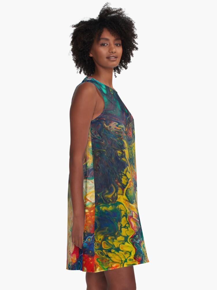 Alternative Ansicht von Trinke das Kool-Aid A-Linien Kleid