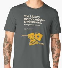 Library Microcomputer Men's Premium T-Shirt
