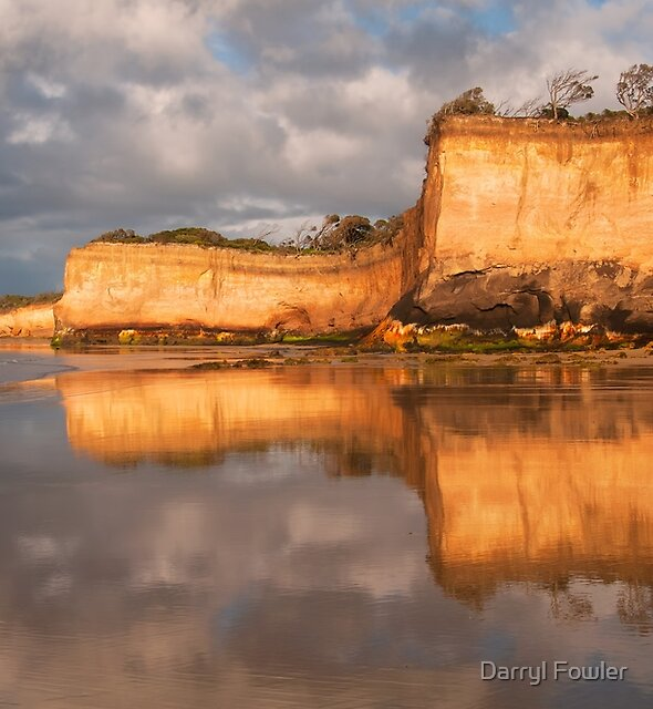 Reflect,Anglesea,Great Ocean Road by Darryl Fowler